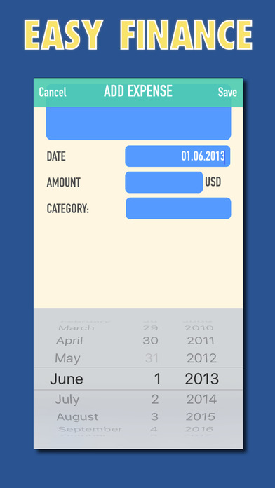 Easy Finance Tracker Cash Flow Planner Ios App Sold On Flippa Ios App With 120 Downloads Mo