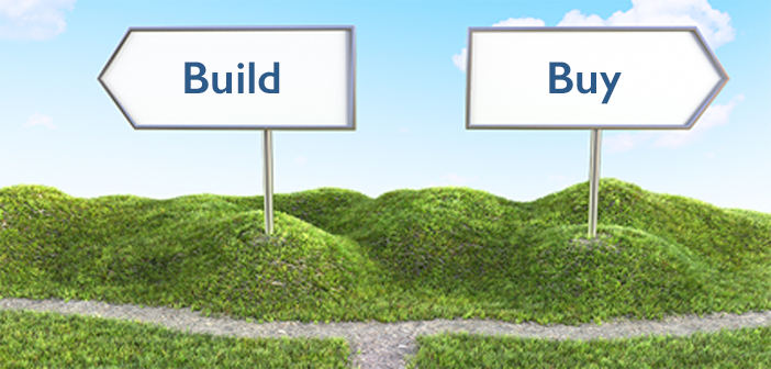 Is it better to build or buy a website?