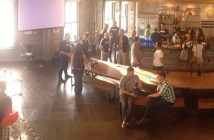 Our satellite office's Meetup space, WeWork Golden Gate