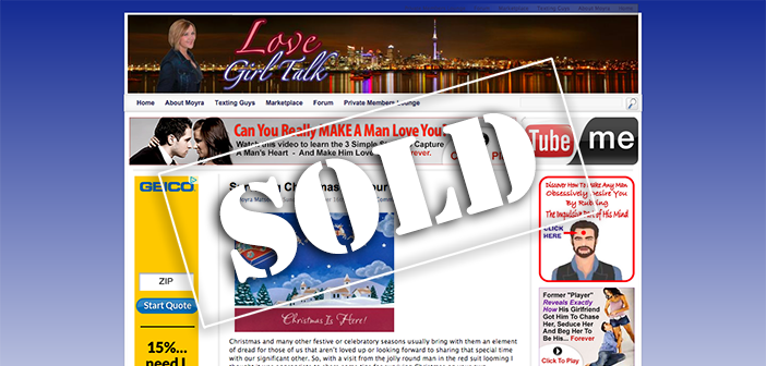 Exclusive buyer interview with the new owner of LoveGirlTalk.com, website purchased at auction on Flippa for $19,999!
