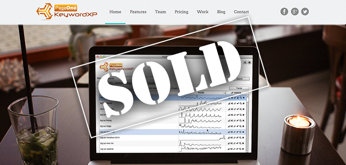 Exclusive interview with the new owner of KeywordXP.com, a site purchased at auction on Flippa for $30,100!