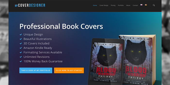 Website for sale on Flippa: MyCoverDesigner.com