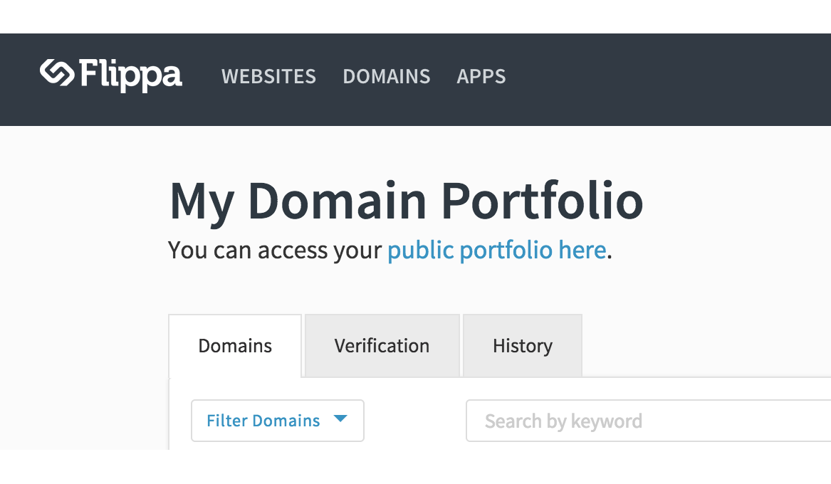 Domain Portfolio Management Tools