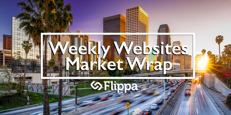 Find the top websites for sale on Flippa