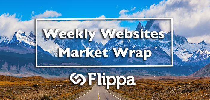 Websites Market Wrap: AdSense site generating 265,000 pageviews/mo takes top spot