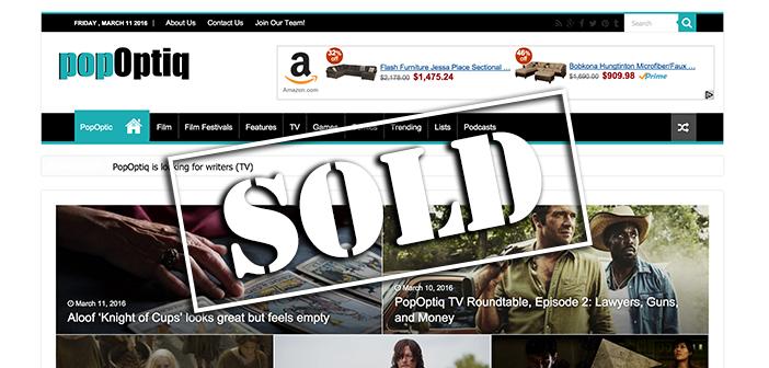 Entertainment Blog Sells For $10,000