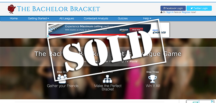 TheBachelorBracket.com sells for $12,000 on Flippa