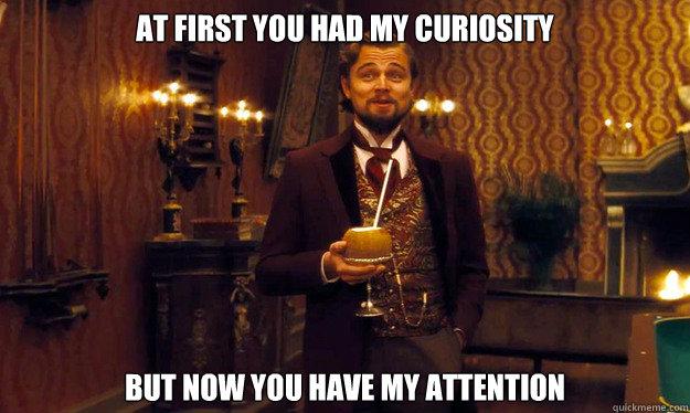 Leonardo Dicaprio Curiousity
