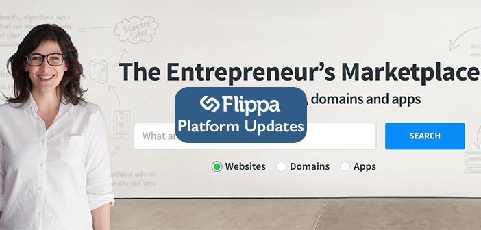 Flippa Platform Updates