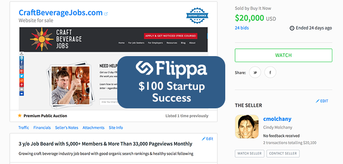 Case Study: The $100 Startup Success