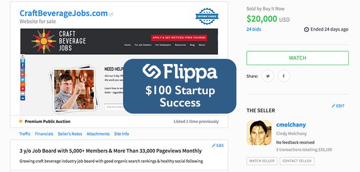 100 Dollar Startup Success