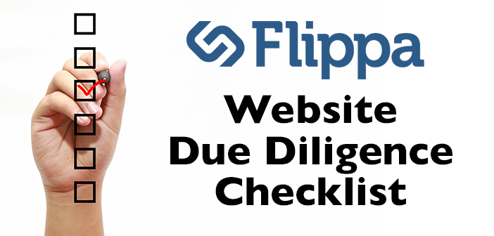 Buyer Due Diligence Checklist