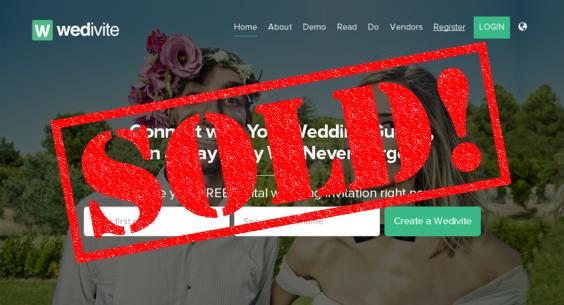 SELLER SUCCESS - Wedivite.com sold for $70,000
