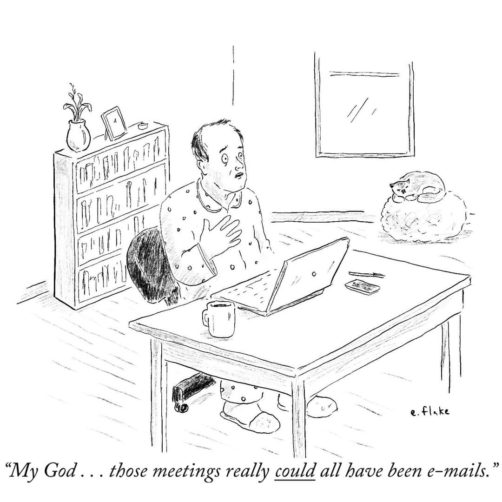 work from home new yorker