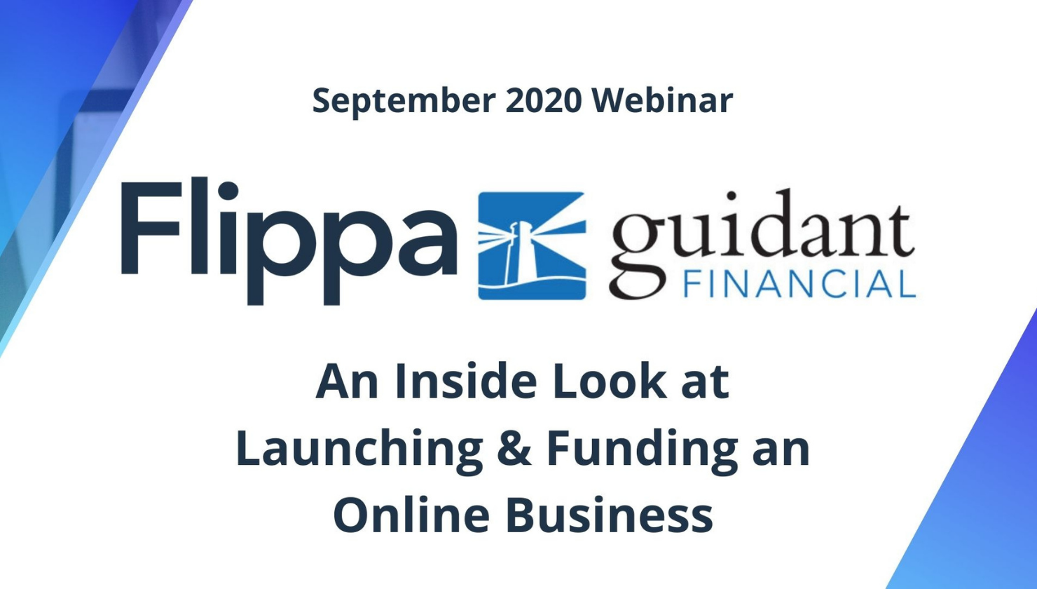 An Inside look at Launching and Funding an Online Business featuring Guidant Financial