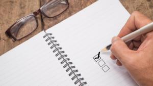 Blog Header niche checklist