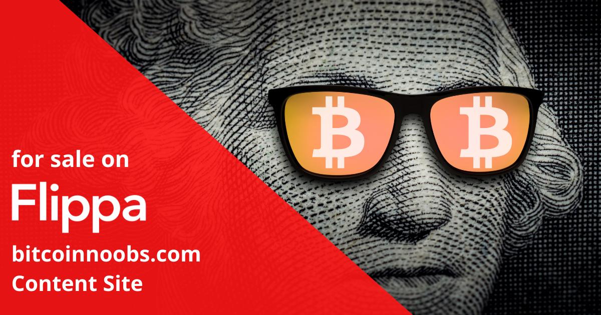 Featured Listing: bitcoinnoobs.com